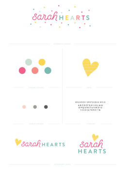 Sarah Hearts has a new look! This colorful yet minimal branding is so fun! Click through to see more of the new site.