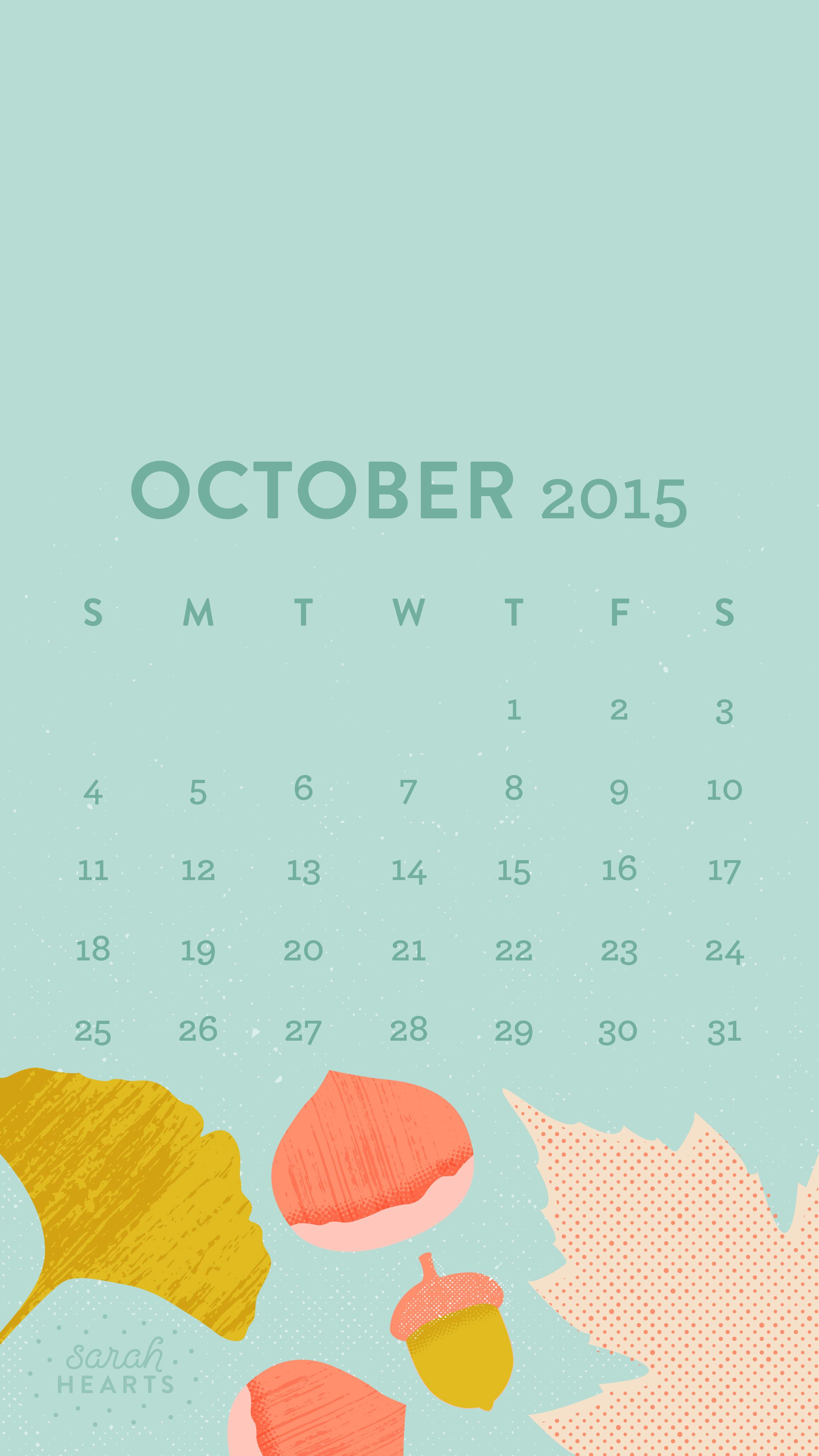Calendar Design Desktop : October calendar wallpaper sarah hearts