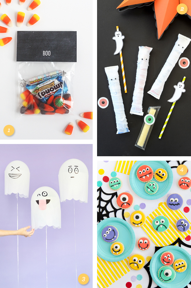 Get ready to host the best (and cutest!) Halloween party with these fun treat and decor ideas!