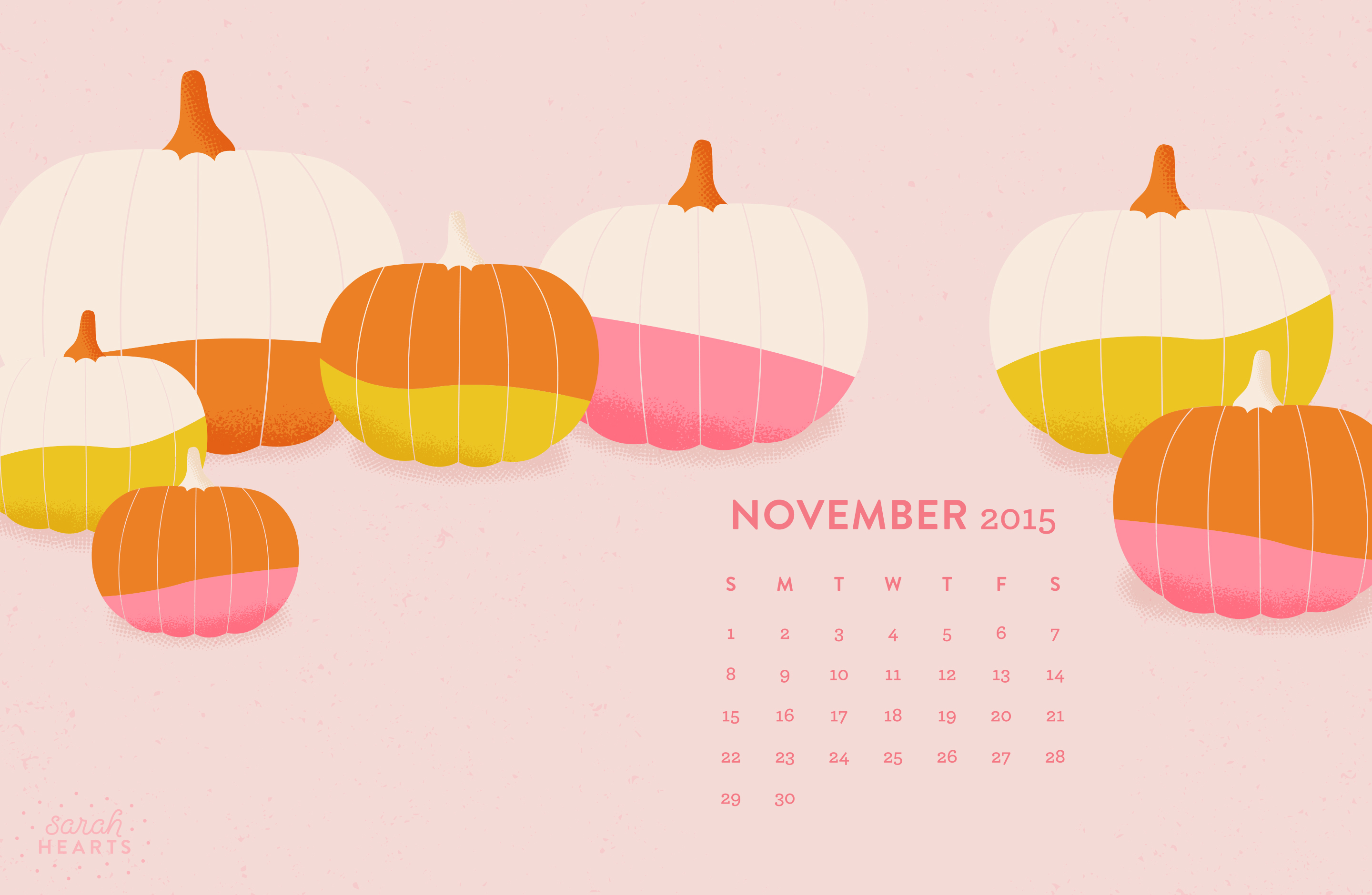 November Calendar Wallpaper For Iphone : November calendar wallpaper sarah hearts