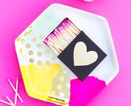 DIY Decoupage Tissue Paper Trinket Tray