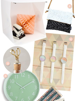 Here are some great gift ideas for your DIY-loving creative friends!