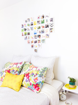 Create wall art in an instant with modular Fotobit frames. They can be arranged any way you like and include all the hardware you been to hang them!