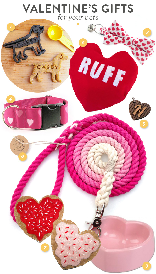 Let your favorite dog or cat know just how much you love them this Valentine's Day by giving them one of these adorable gifts!