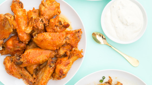 You're going to want to try these 3 crispy oven baked chicken wing recipes. They are the perfect party food! You'll want to try all three variations!