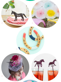 Everything you need to host the most stylish Kentucky Derby party is right here! This round-up is loaded with great DIYs and recipes for celebrating Derby Day.