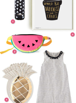 Here are a few cute and colorful items that blogger Sarah Hearts is loving right now!