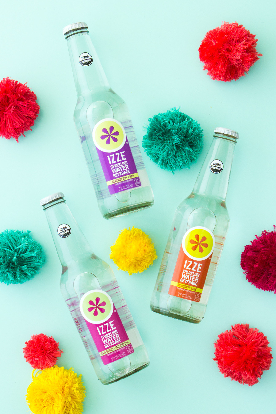 If you love all things bubbly than you gotta try the organic @IZZEOfficial sparkling water! It has true-to-the-fruit flavors and only 10 calories per bottle.