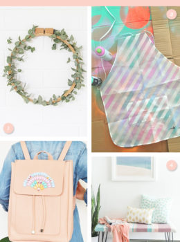 Try one of these pretty pastel home or fashion project this weekend!