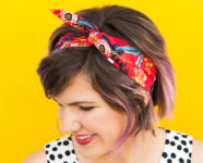 DIY No-Sew Wire Headband