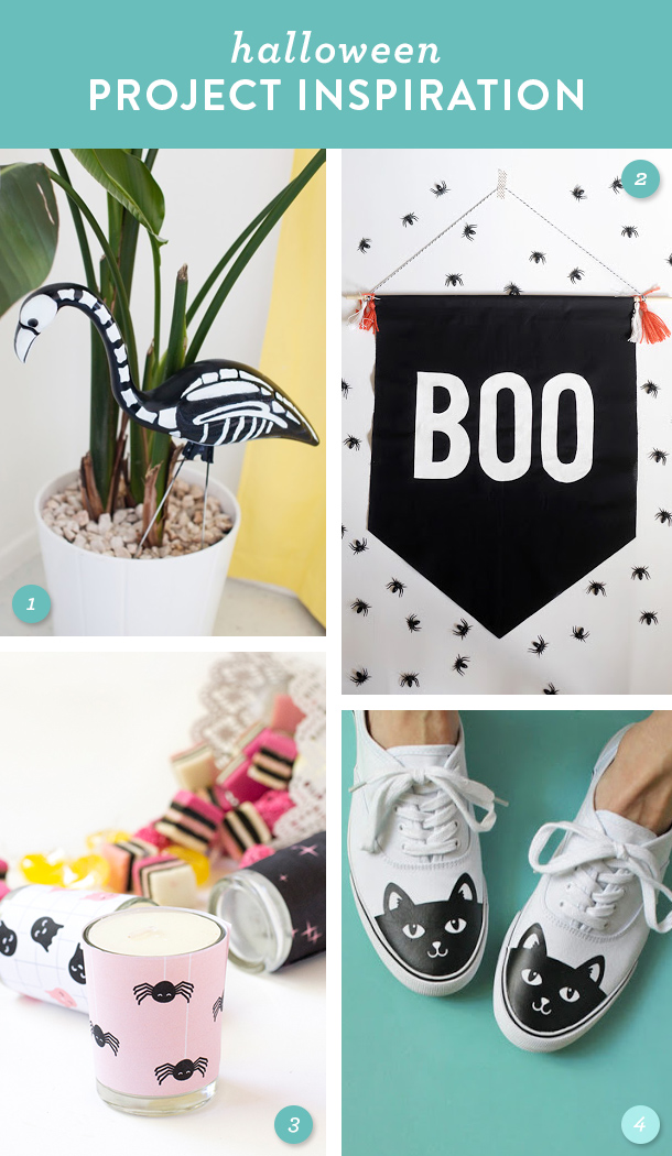 Try making one of these easy decor projects this Halloween!