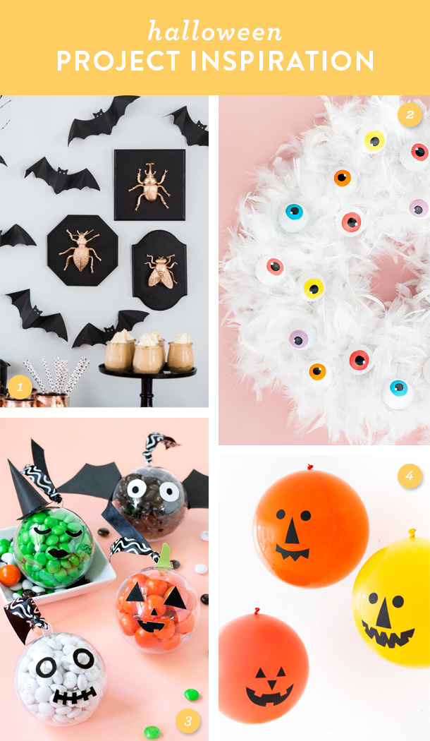 Get ready for a spooky and stylish Halloween! Try one of these easy DIY projects!
