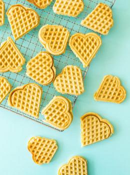 Make Scandinavian sugar cookies in your waffle maker using this easy recipe from Scandinavian Gatherings.