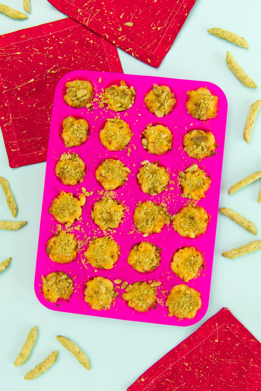 Serve these kid and adult friendly mac and cheese bites are your next party!