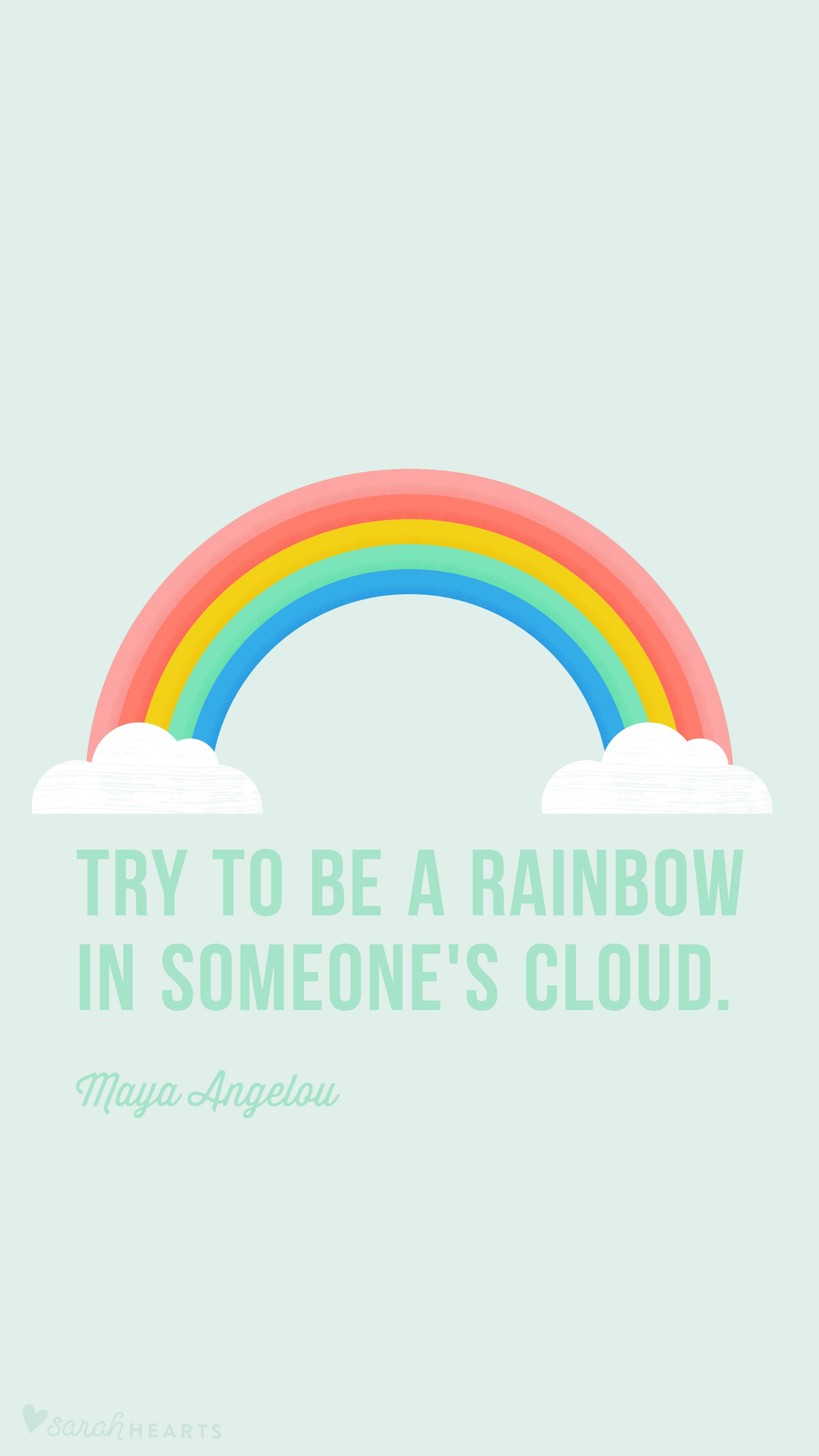 Diy Rainbow Calendar : Rainbow march calendar wallpaper sarah hearts