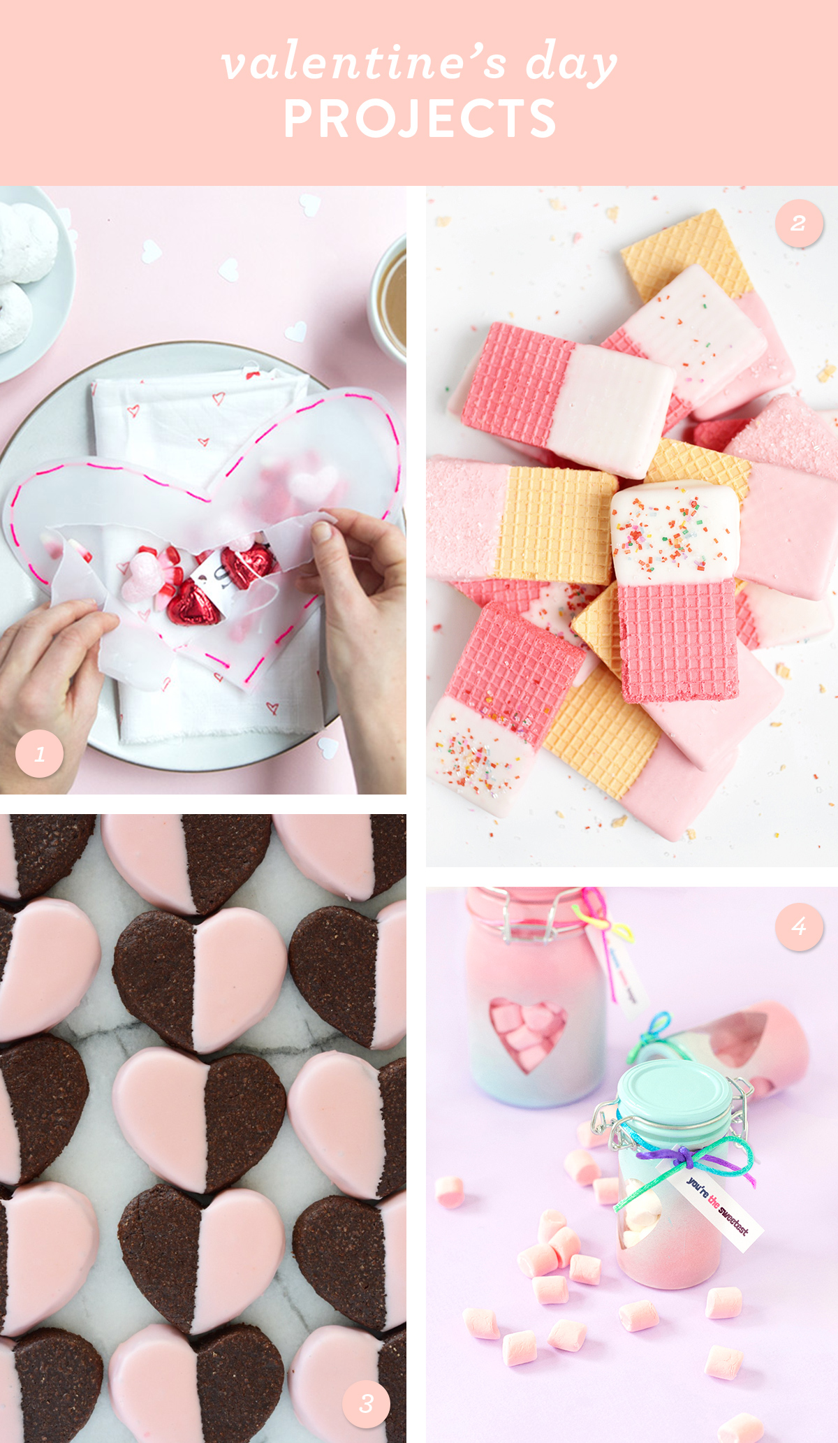 Make one of these sweet treats for your valentine!