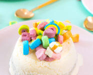 Lucky Charms Mini Ice Cream Cakes