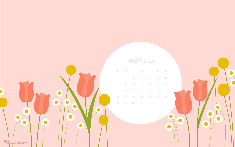 may 2017 calendar wallpaper sarah hearts