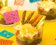 Easy Individual Mexican 5 Layer Dip