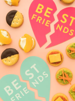Celebrate Best Friends Day with these easy snack recipes based on classic food combos like chocolate and peanut butter and tomato soup and grilled cheese!