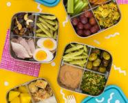 Four Healthy Bento Box Lunch Ideas