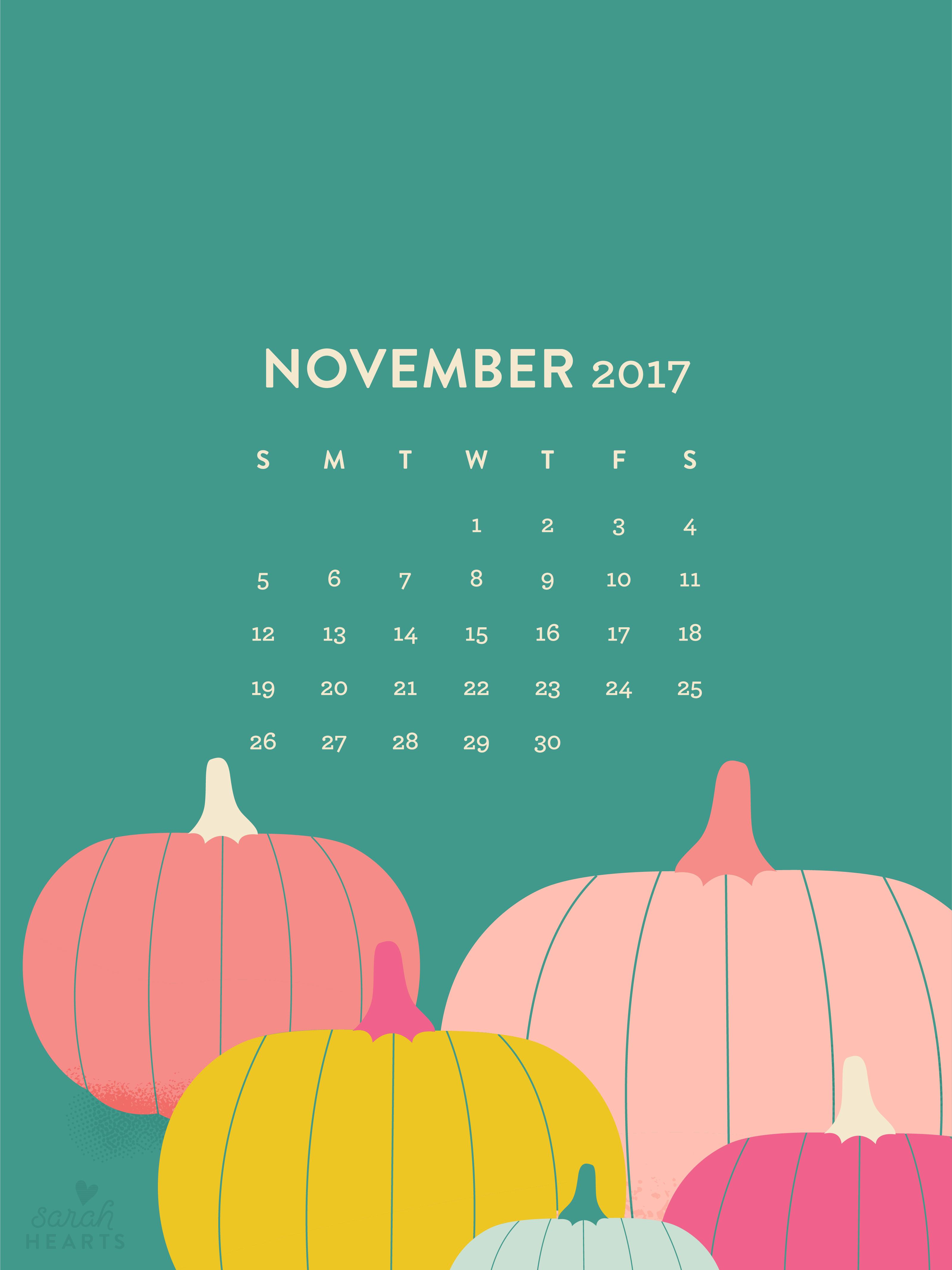calendar november calendar
