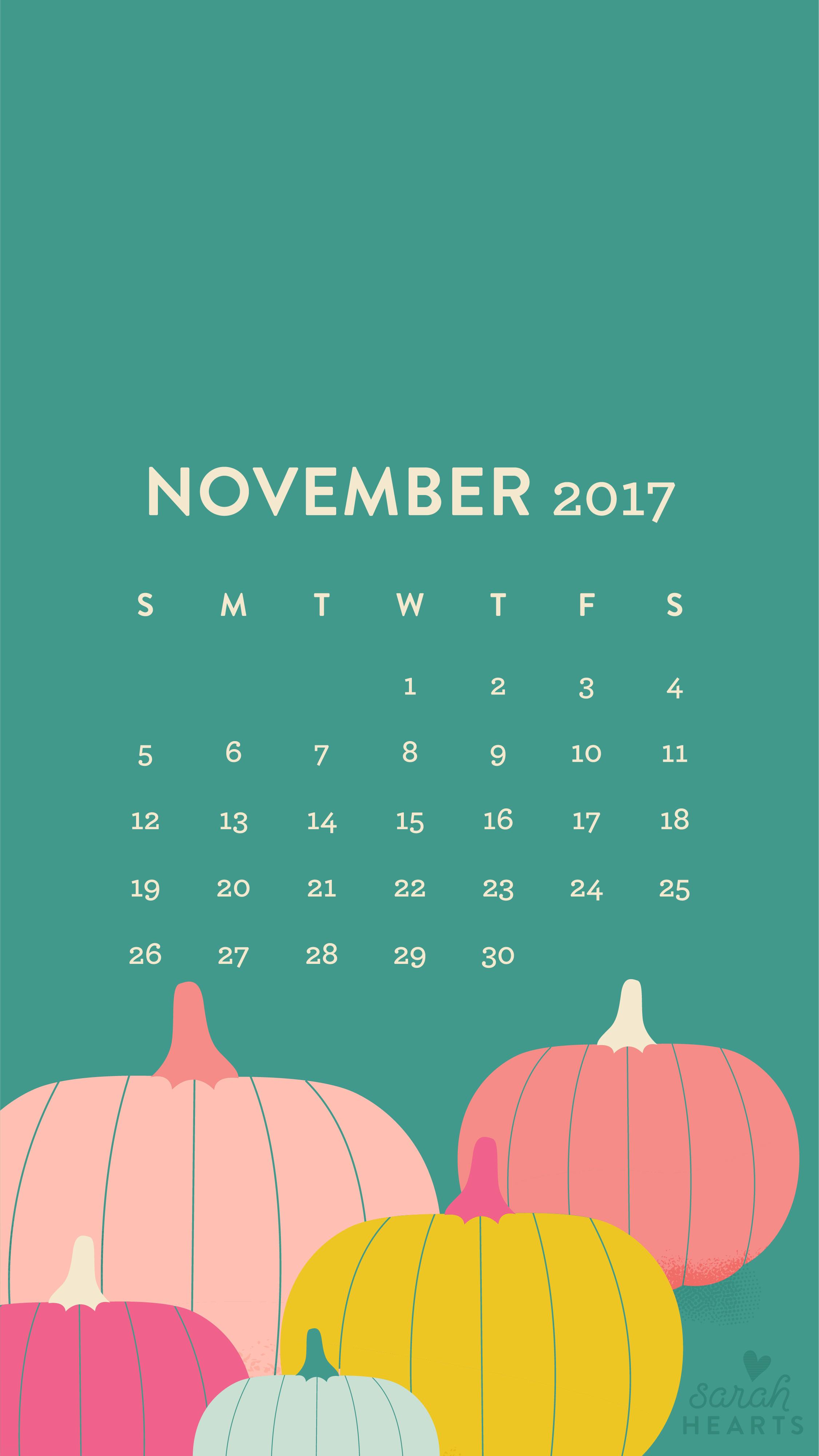Wallpaper download of 2017 - Download The November Pumpkin Wallpaper