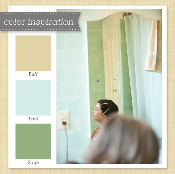 Tan Light Blue And Green Color Palette 36