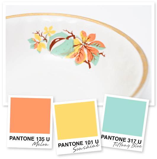 Orange Light Yellow And Tiffany Blue Color Palette Inspiration