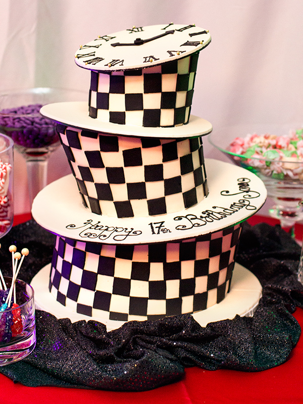 Peachy Alice In Wonderland Birthday Cake Sarah Hearts Funny Birthday Cards Online Alyptdamsfinfo