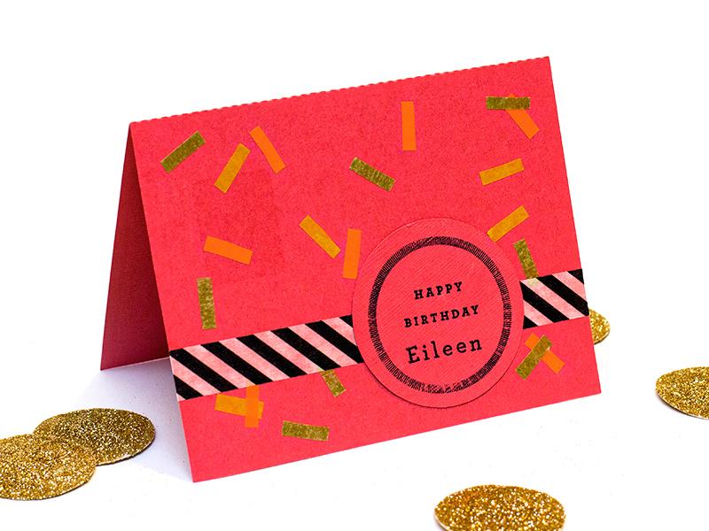 washi tape cards