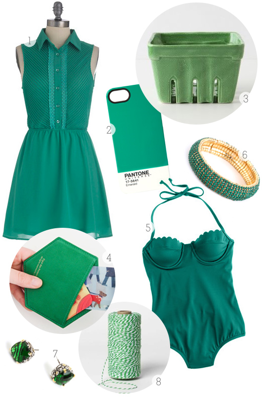 Pantone Color of the Year Inspiration Board from Sarah Hearts