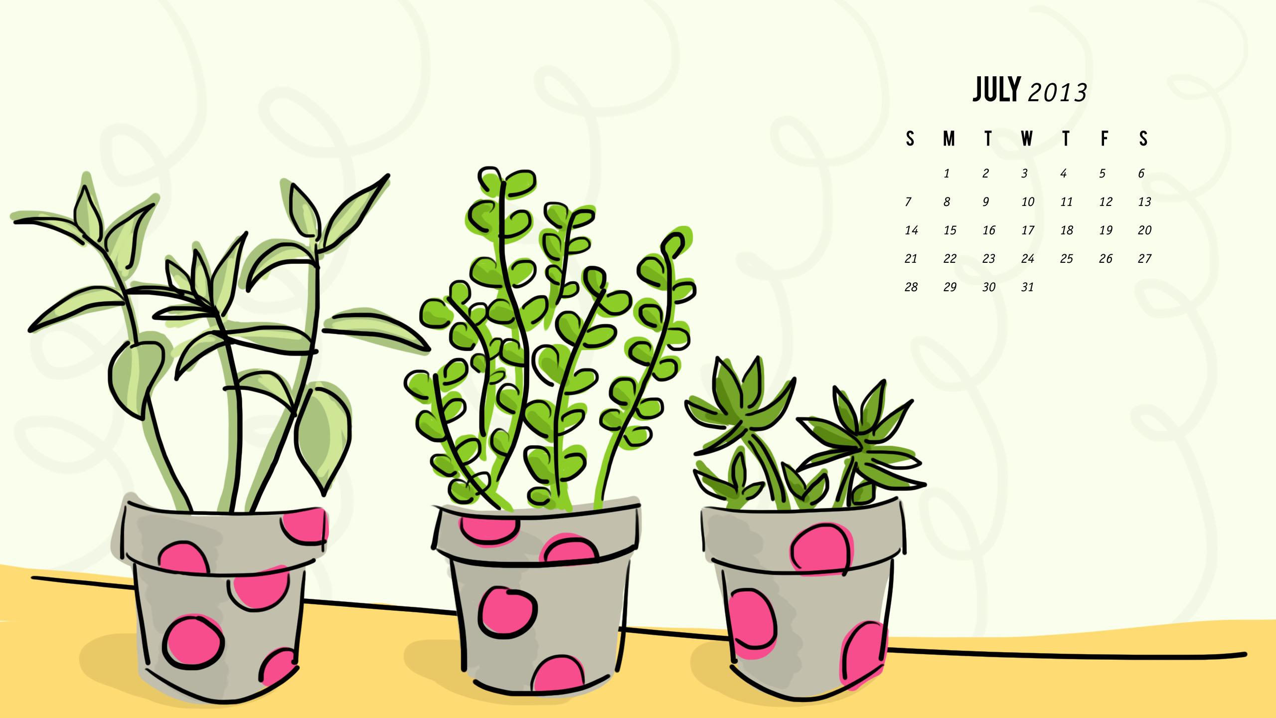 july 2013 calendar wallpaper sarah hearts