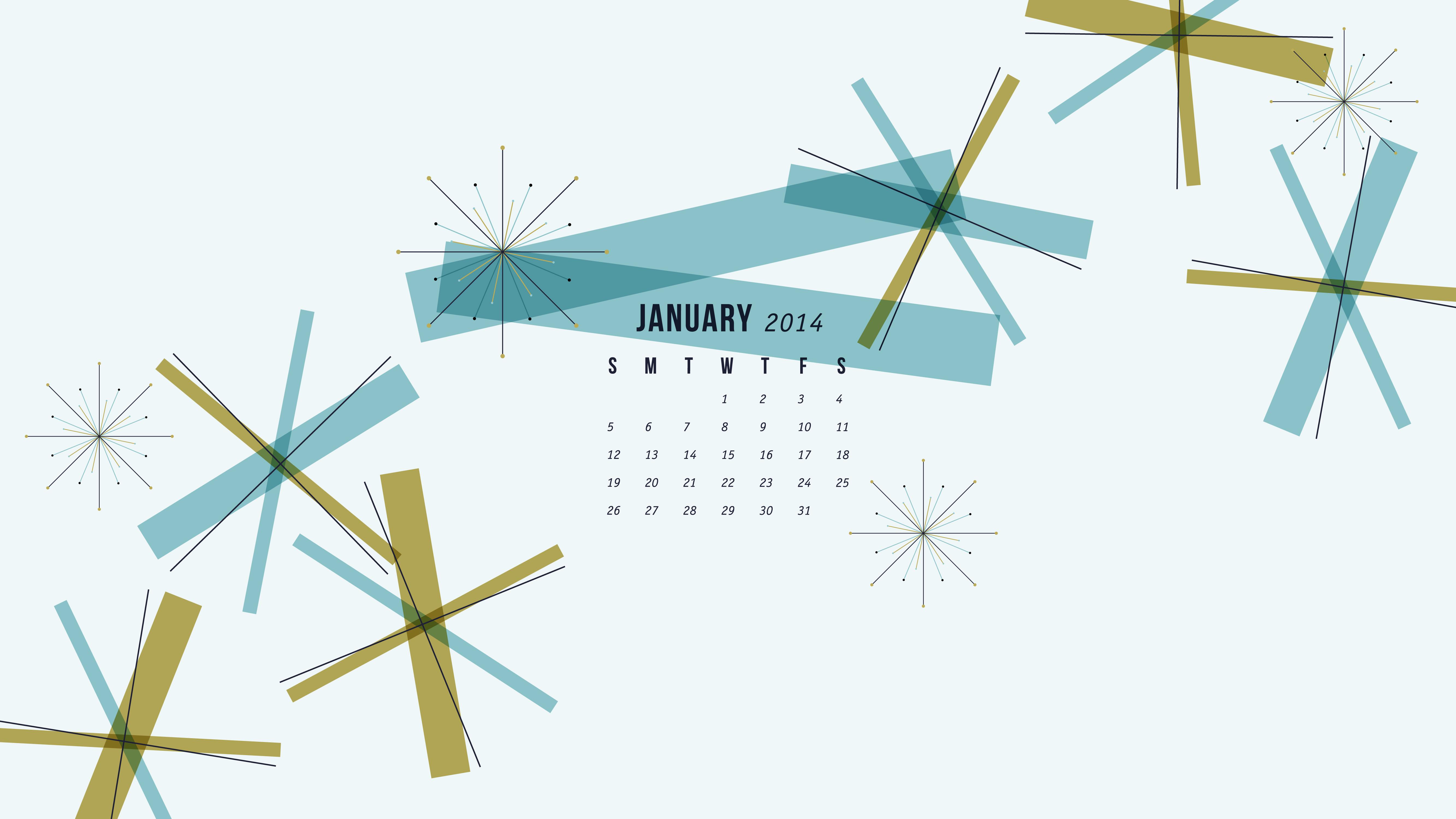 January 2014 Calendar Wallpaper Sarah Hearts