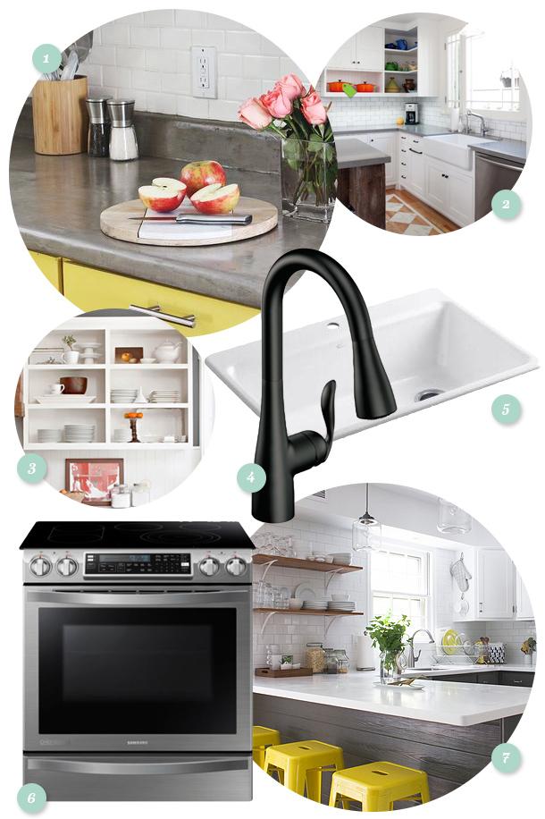 Diy kitchen update ideas sarah hearts for Kitchen update ideas