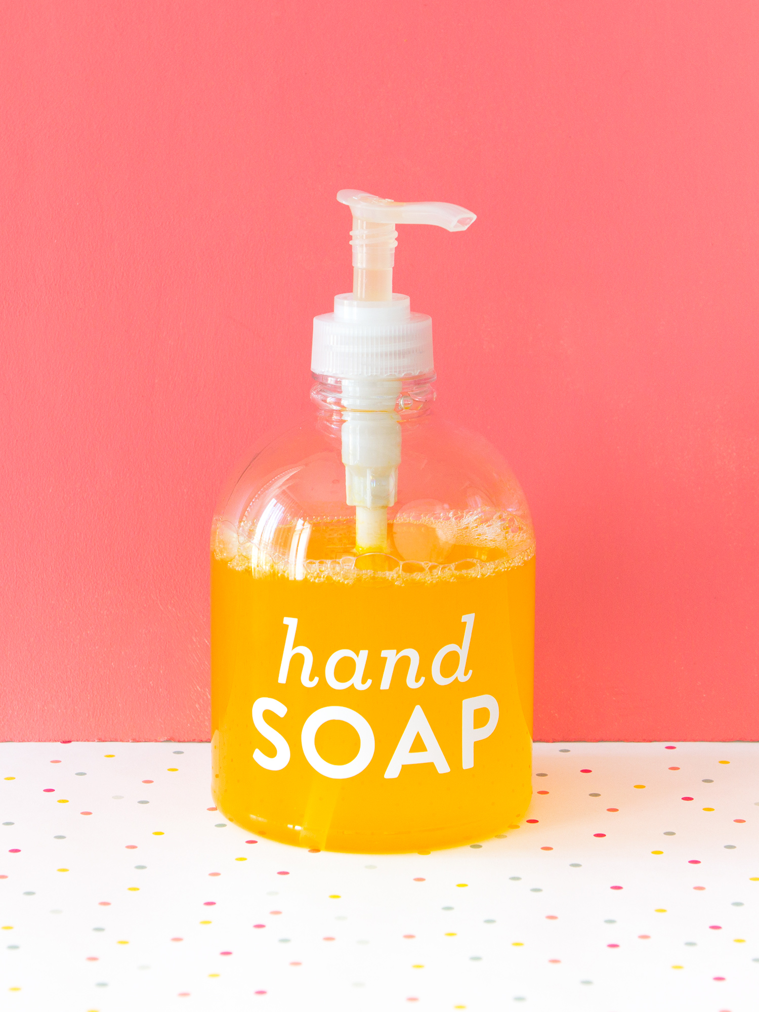 DIY Liquid Hand Soap – Sarah Hearts