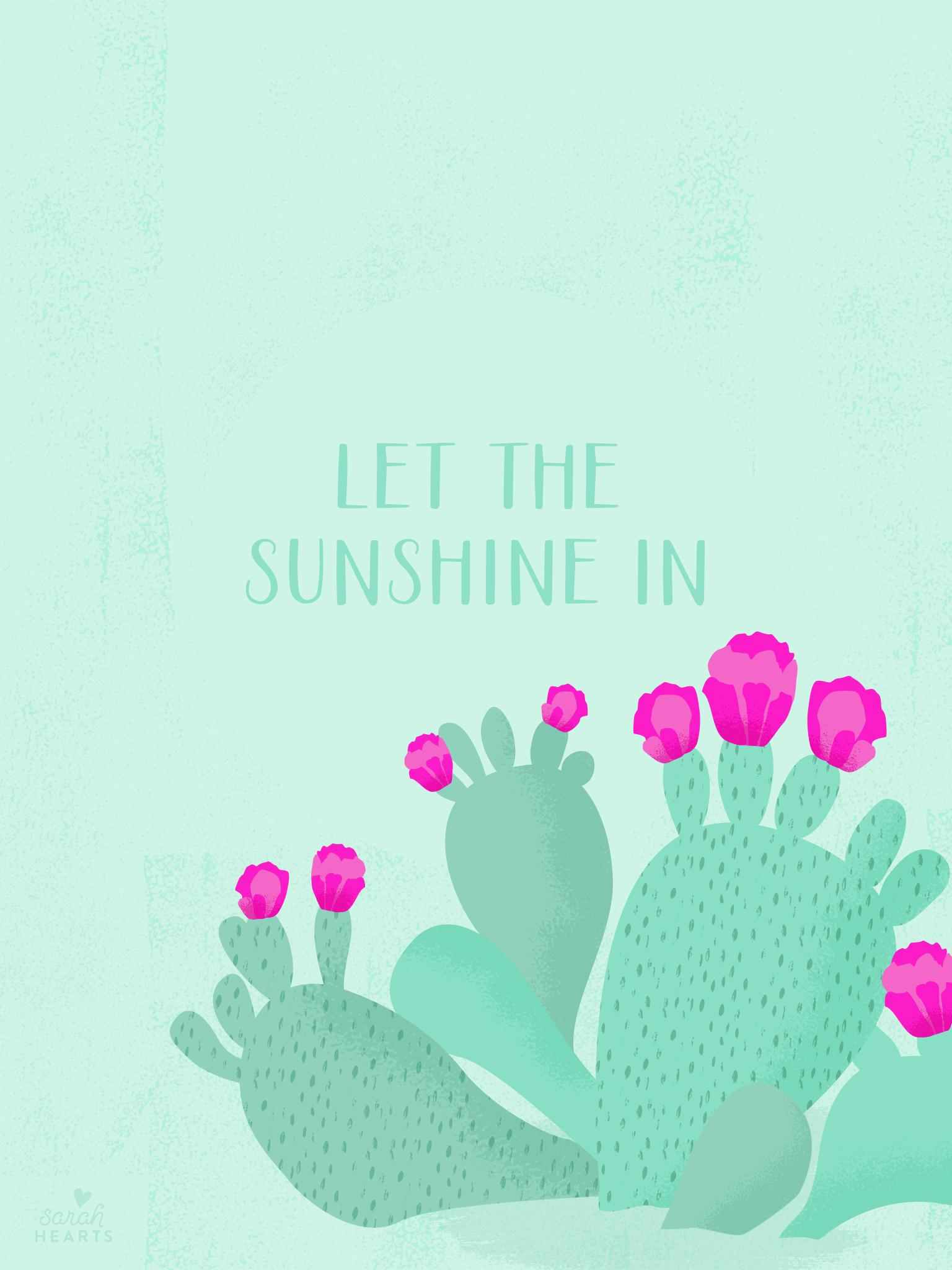 Calendar Month Design : May cactus calendar wallpaper sarah hearts