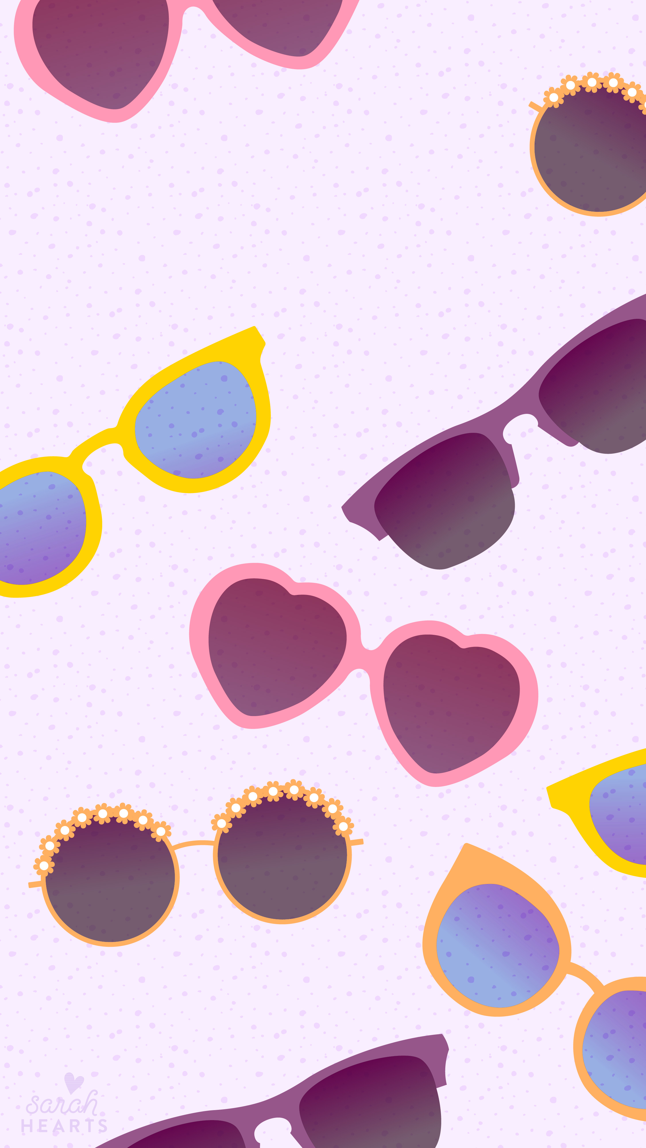 june 2016 sunglasses calendar wallpaper sarah hearts