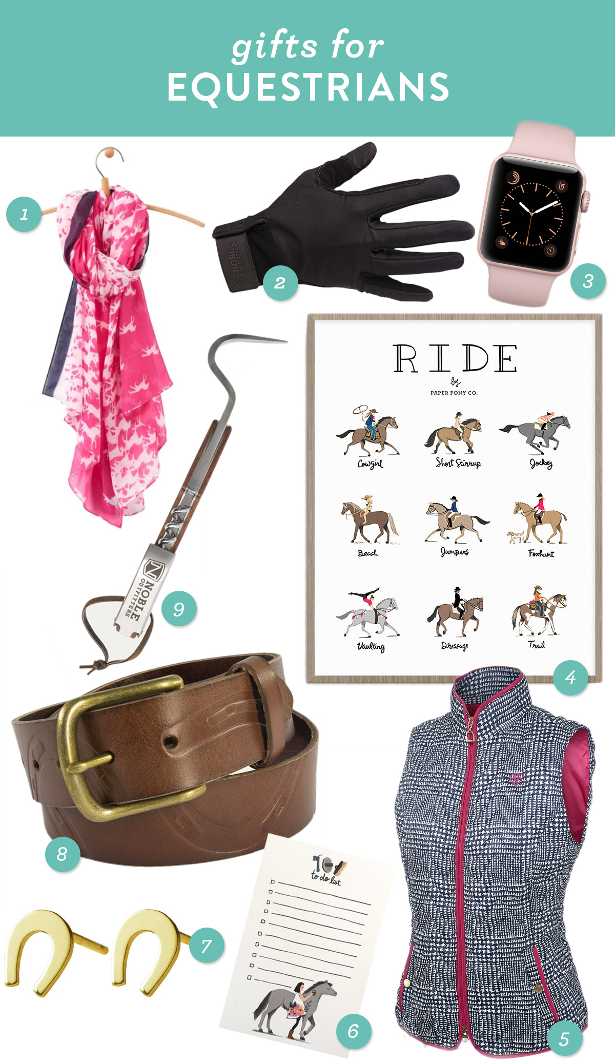 Gift ideas for the equestrians and horse lovers in your life ...