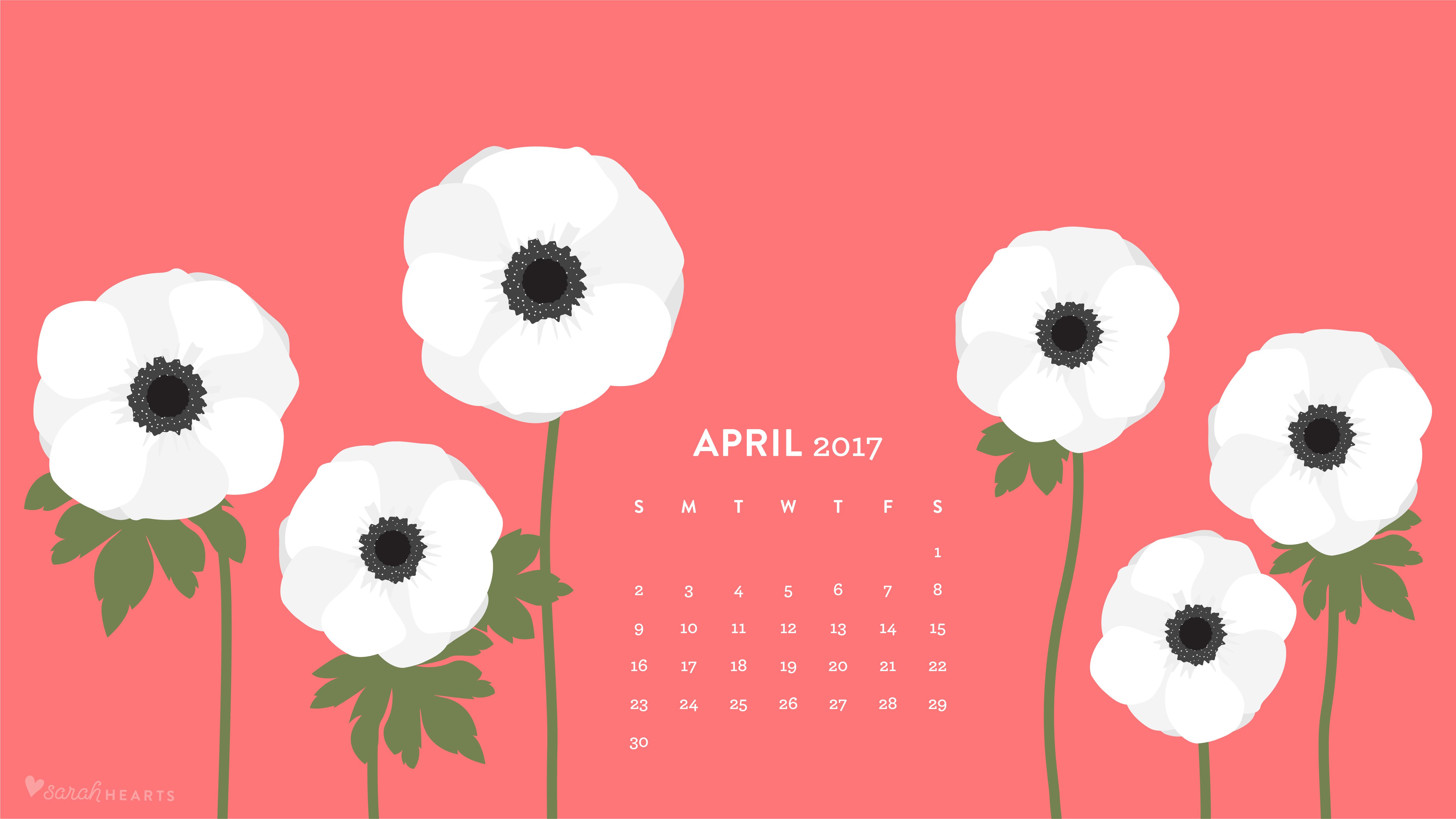 Calendar 2018 April June