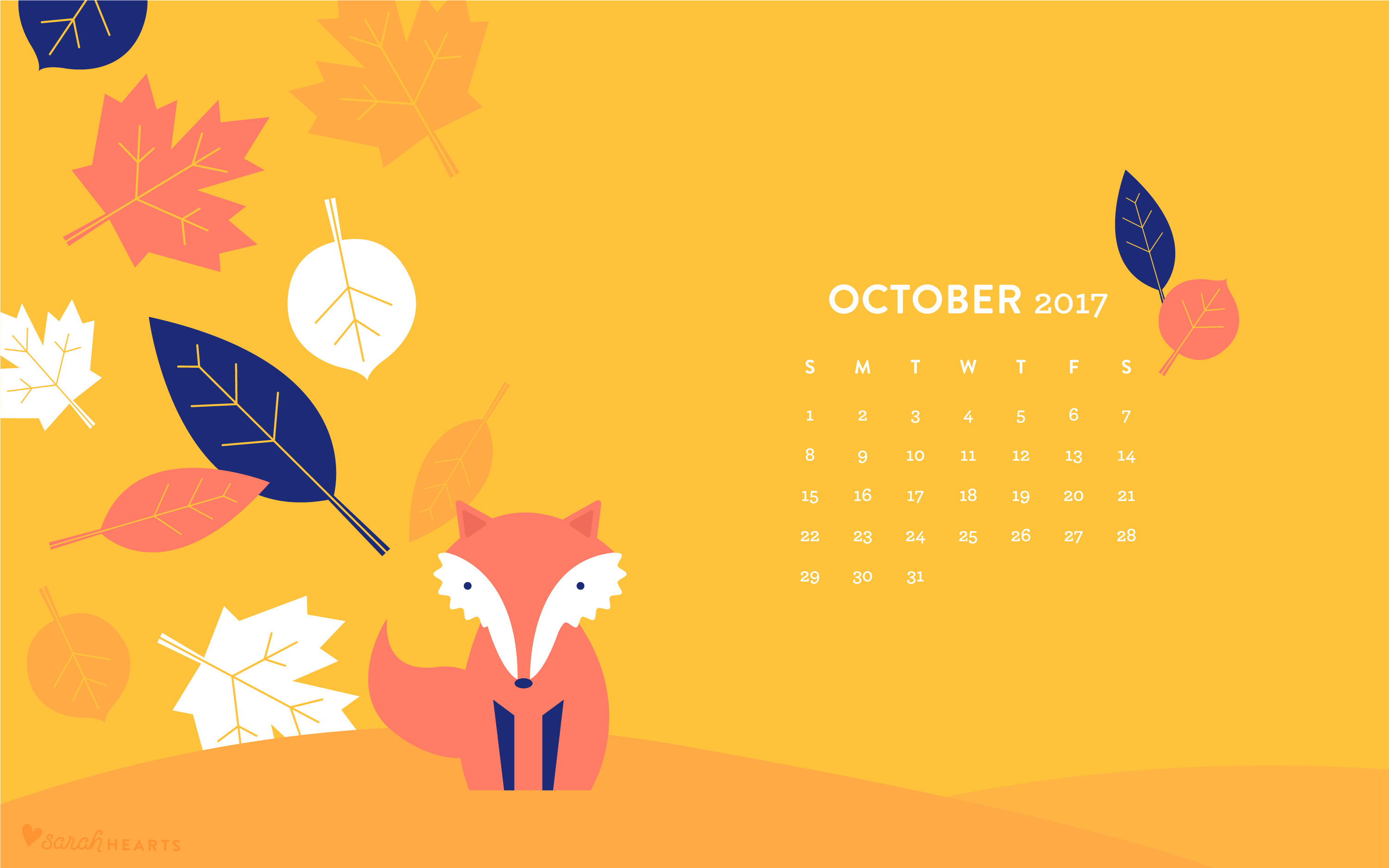 DOWNLOAD THE OCTOBER WALLPAPER Desktop