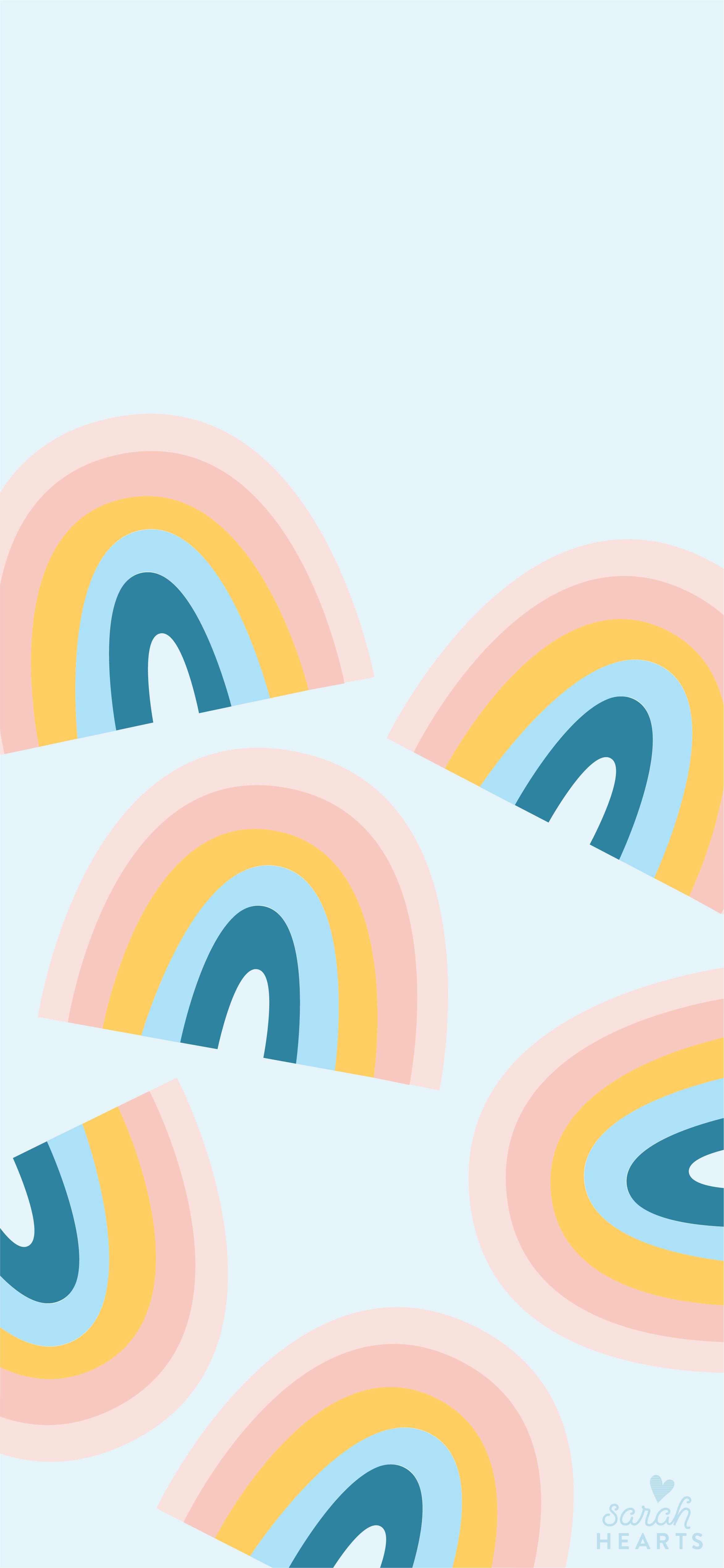 March 2019 Rainbow Calendar Wallpaper Sarah Hearts